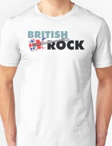 British Rock Music Guitar T-Shirt