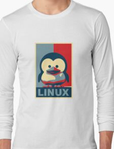 Linux Baby Tux Long Sleeve T-Shirt