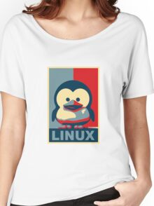 Linux Baby Tux Women's Relaxed Fit T-Shirt