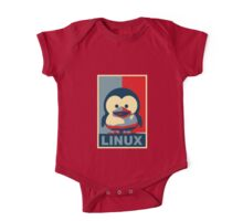Linux Baby Tux One Piece - Short Sleeve