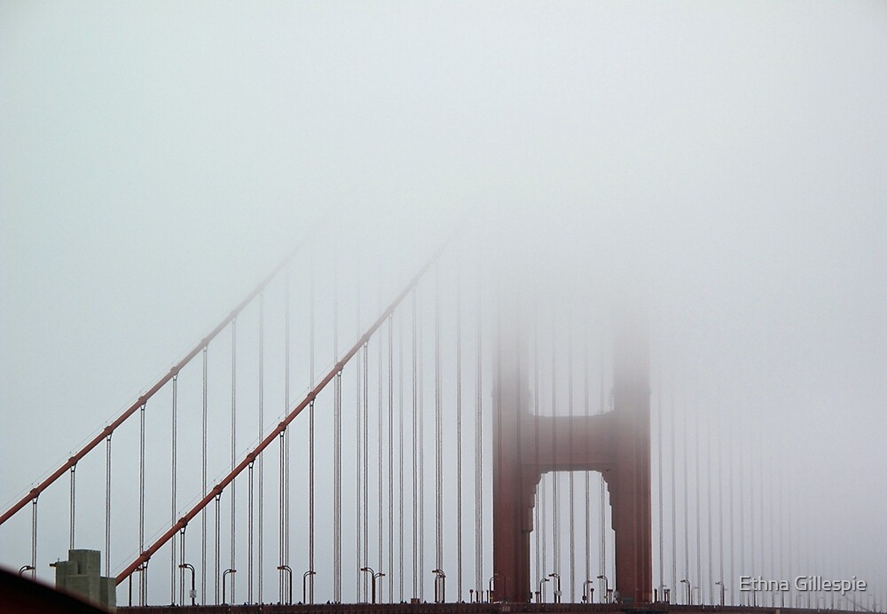 Golden Gate Bridge  by Ethna Gillespie