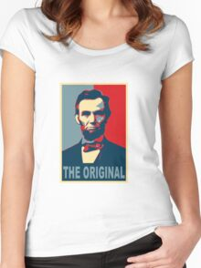 Abe: The Original Women's Fitted Scoop T-Shirt