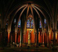 Saint-Chapelle (Paris) The Lower Chapel by Fran0723