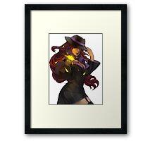 Mafia Miss Fortune Framed Print
