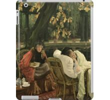 sag-65029-a-convalescent-bridgeman-art-8-7-12 by Lawrence Alma-Tadema iPad Case/Skin