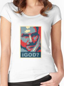iGod? Women's Fitted Scoop T-Shirt