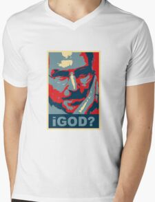 iGod? Mens V-Neck T-Shirt