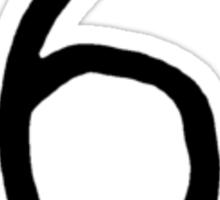 6ix Sticker
