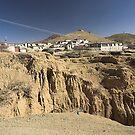 Tibetan Village by Hugh Chaffey-Millar