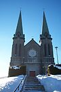 Cathedral of the Immaculate Conception, Edmundston, New Brunswick by Allen Lucas