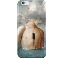 the door to the clouds iPhone Case/Skin