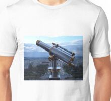 Tower Viewer Telescope on the top of the Eiffel Tower Unisex T-Shirt
