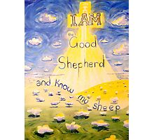I AM the Good Shepherd Photographic Print