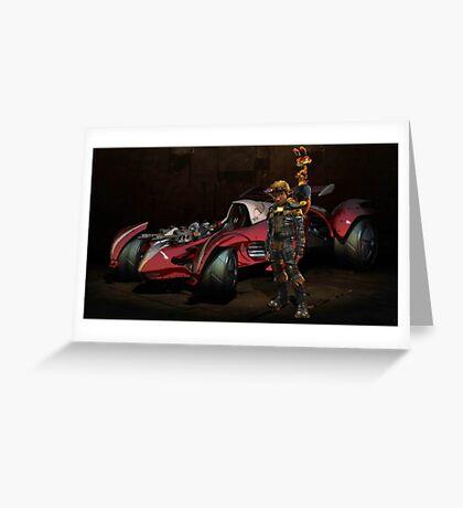 Jak X Combat Racing Greeting Card