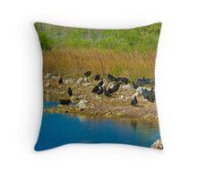 Buzzard Beach Throw Pillow