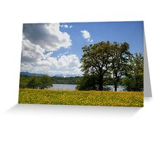 Bavarian Spring Time Greeting Card
