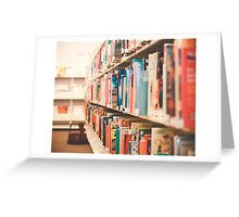 Library Time Greeting Card