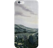 """""""A Drizzly Day in the Dales"""" iPhone Case/Skin"""