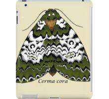 Bird dropping moth iPad Case/Skin