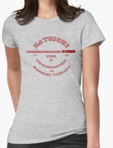 Zatoichi School Womens Fitted T-Shirt