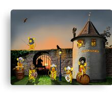 My home is my castle Canvas Print