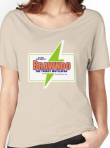 BRAWNDO Vintage Women's Relaxed Fit T-Shirt