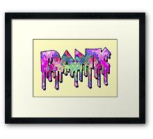 Dank - Galaxy Framed Print