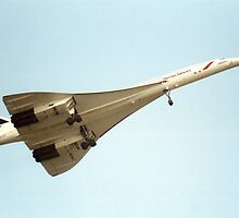Concorde in Flight by Brunoboy