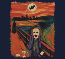 scream joker Kids Clothes