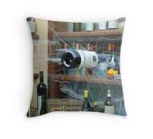 in the shop window Throw Pillow