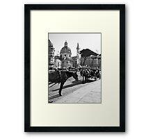 Rome: buggy Framed Print