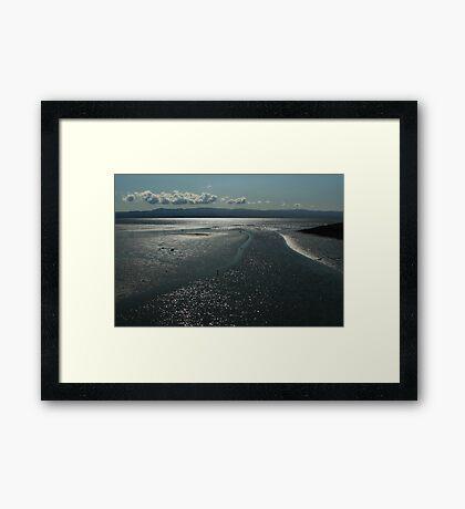 Shimmering Framed Print