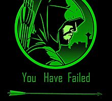 Arrow - Oliver Queen You Have Failed This City by TylerMellark