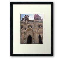 Orléans Cathedral Framed Print