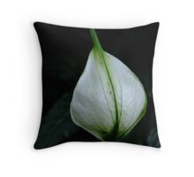 vegetal sail Throw Pillow