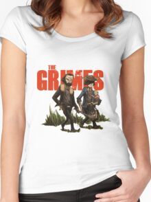 The Grimes Women's Fitted Scoop T-Shirt