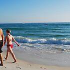 Sandy Walk by Felicia Morgan Hale
