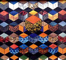 31 - HEXAGON DESIGN - 02 - DAVE EDWARDS - COLLAGE by BLYTHART