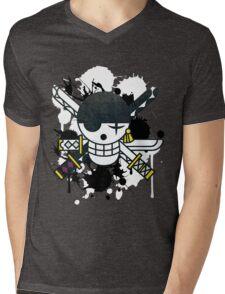 New World Zoro Mens V-Neck T-Shirt