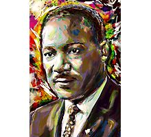 Martin Luther King Art Photographic Print