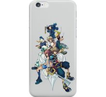 Kingdom Hearts- All Characters  iPhone Case/Skin