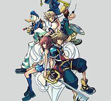 Kingdom Hearts- All Characters  by TylerMellark