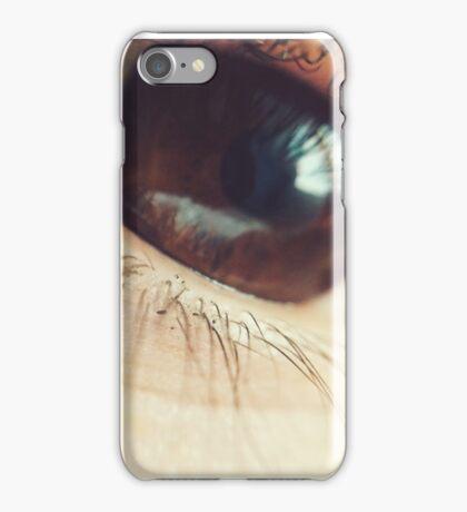 Brown Eye iPhone Case/Skin