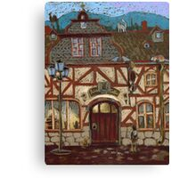 """An Illustration to """"Kirschberg"""" story by P.Reineke. Canvas Print"""