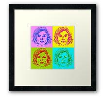 Olivia Benson Framed Print