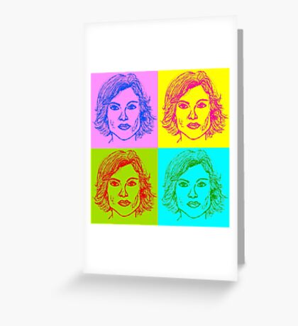 Olivia Benson Greeting Card
