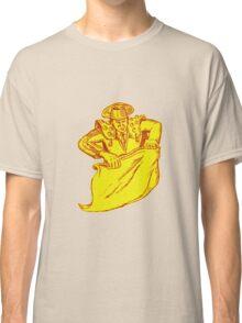 Bullfighter Matador Bullfighting Etching Classic T-Shirt