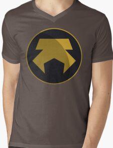 Metalbending Police Force Symbol Mens V-Neck T-Shirt