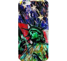 Statue of Liberty Art, USA iPhone Case/Skin