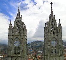 The Best View In Quito Ecuador by Al Bourassa